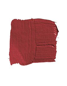 BENJAMIN MOORE MOROCCAN RED 1309: — this is the red of the riding jackets in British hunting prints