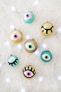 Eye Ornament - Holiday DIYs That Are So Elevated - Photos