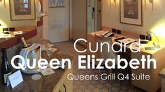 Video tour of Cunard Queen Elizabeth Queens Grill Suite 7103 we stayed in on a three-week trip around Japan to and from Hong Kong. Cunard Queen Victoria, Cunard Queen Elizabeth, Queen Mary 1, Cunard Ships, Time In Australia, World Cruise, Panama Canal, Queens, Grilling