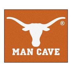 Texas Longhorns NCAA Man Cave Tailgater Floor Mat (60in x 72in)