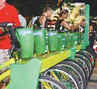 Pregopontocom Tudo: Bicicletar Fortaleza atinge 1,5 milhão de viagens