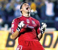 Nahuel Guzmán,actual portero titular,del Club TIgres U.AN.L.