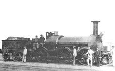 GWR Ariadne Class 'Flirt' 0-6-0 by Gooch at Swindon