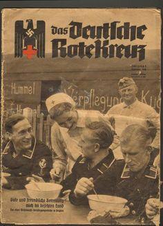 Das Deutsche Rote Kreuz 1940 09 Belgium Hummel magazine                                                                                                                                                     More
