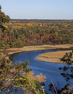 Another view of the Au Sable river in Michigan.
