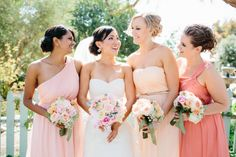 Spotted our Donna dress!   Read More: http://stylemepretty.com/2013/10/14/camarillo-wedding-from-marianne-wilson-photography/