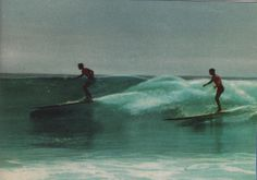 1951 Malibu with Dave sweet and Buzzy Trent / ph: Joe Quigg Surfing Images, Vintage Surfboards, Surfer Dude, Surfer Magazine, Sport Of Kings, Surfer Style, Surf Shack, Making Waves, Longboarding