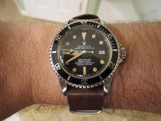 Convince Me: Vintage Rolex on Leather Straps - Rolex Forums ...