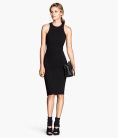 Crêpe Dress | Black | Ladies | H&M US