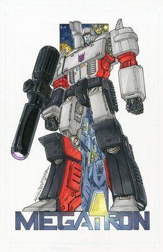 Megatron commission colours by *markerguru on deviantART