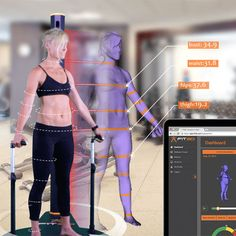 Fitness Equipment That Looks Like Science Fiction | Pilates pods, electromagnetic stationary bikes, 3D body scanners...  (Pictures)