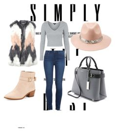 """""""#lady"""" by m-dzeny ❤ liked on Polyvore featuring Kate Spade, Michael Kors, Paige Denim, Rebecca Taylor, Topshop and Charlotte Russe"""
