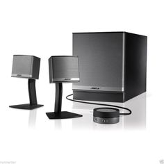 New Companion 3 Series II Multimedia PC Speaker System Unit #Bose
