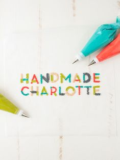Hand lettering with Frosting with the HP Sprout!