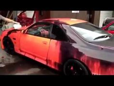 Car Thermochromic Paint Changes Color Music YouTube Open Highway