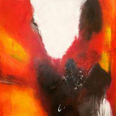 Feurig II  Direkt vom Künstler von ArtofKESCH auf Etsy, €550.00