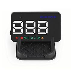GOGOLO 3.5'' A5 GPS Universal HUD Head Up Display KMH MPH Over Speed Alarm Speedometer with Compass for 12V Vehicle Windshield Projector with Film, Cigarette Lighter Powered & 2 Display Alternatives. For product info go to:  https://www.caraccessoriesonlinemarket.com/gogolo-3-5-a5-gps-universal-hud-head-up-display-kmh-mph-over-speed-alarm-speedometer-with-compass-for-12v-vehicle-windshield-projector-with-film-cigarette-lighter-powered-2-display-alternat/