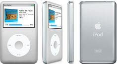 An intelligent music player Apple ipod classic
