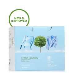 Fresh Laundry Concentrate Fragrance Free (powder) 5.5 lb. | Laundry | Household Cleaning | Green Home | Shaklee US site Front Load Washer, How To Eat Better, Data Sheets, Fresh And Clean, Green Cleaning, Laundry Detergent, Clean House, Biodegradable Products, Fragrance