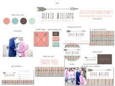 Premade Marketing Package for by FreshLavenderDesigns on Etsy