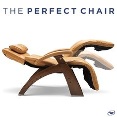 Reduce back pain and find zero gravity relief with the touch of a button.  When you purchase a Perfect Chair, receive your choice of any single Perfect Chair accessory (up to $399) for free! Going on until 6/19.