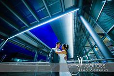 Gorgeous night sky wedding photography Winnipeg, Richardson International Airport