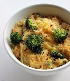 Spaghetti Squash Mac & Cheese