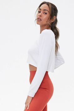 Forever 21 Top Affordable Tops reasonablyrebecca Affordable Clothes, Lounge Wear, Active Wear, Fitness Models, Forever 21, Clothes For Women, How To Wear, Blonde Highlights, Women's Tops