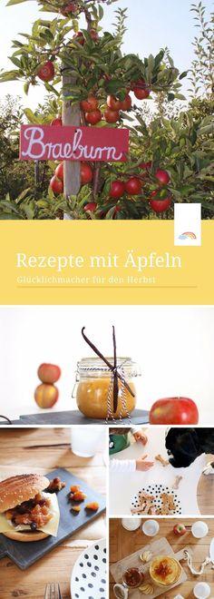 Rezepte mit Äpfeln: Glücklichmacher für den Herbst - Apfelpfannkuchen, Apfelmarmelade, Apfelchutney & Hundekekse