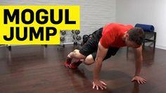 Strengthen Hip Flexors with Mogul Jumps | #TheShoeMart #Running