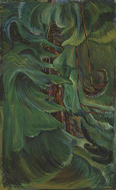 Cedar, 1942 - Emily Carr - WikiArt.org