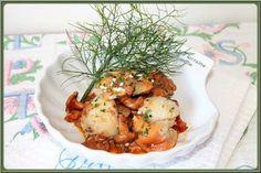 LA TABLE LORRAINE D'AMELIE: St Jacques aux girolles à la crème de chorizo