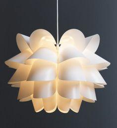 Ikea KNAPPA Retro Pendant Lamp Artichoke inspired Mid Century Modern Light