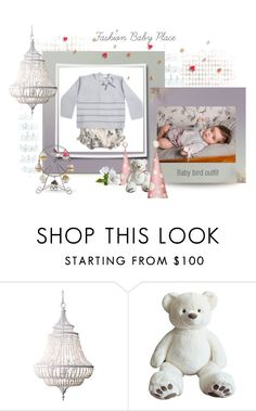 """Baby bird knitted outfit"" by fashionbabyplace ❤ liked on Polyvore featuring Feiss"