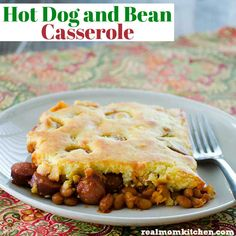 Hot Dog and Bean Casserole   Real Mom Kitchen