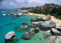 British Virgin Islands - The Baths -  Such an amazing place to truly explore a tropical island (nature fully included)
