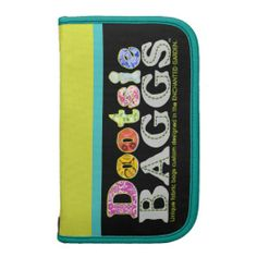 Choose from 2 different styles of folio organizers with a DootsieBAGGS logo.
