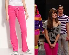Thanks noshameiloveklaine! Juicy Couture French Terry Pocket Pants - $118.00 Worn with: Forever 21 top