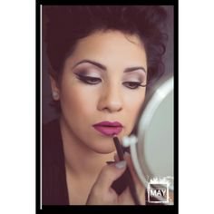 Makeupbywendyzerrudo.com Pop of lip color classic lift eye technique. Winged liner. MAC cosmetic preferred. Photograpybymay.com