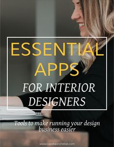 The bare minimum essential apps for running an interior design business. Don't get too bogged down in what you should be using!