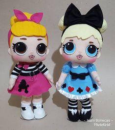 "744 curtidas, 104 comentários - isani santos (@isani_bonecas) no Instagram: ""As queridinhas do momento... mega apaixonada por esse projeto 😍 #lolsurprise #lolsurpriseparty…"" Fabric Dolls, Paper Dolls, Clay Baby, Lol Dolls, Foam Crafts, Big Eyes, Doll Clothes, Hello Kitty, Toys"
