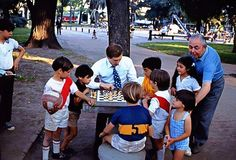 Bobby Fischer in a break of match Fischer-Petrosian, Buenos Aires, Argentina, 1971; photograph by Harry Benson.