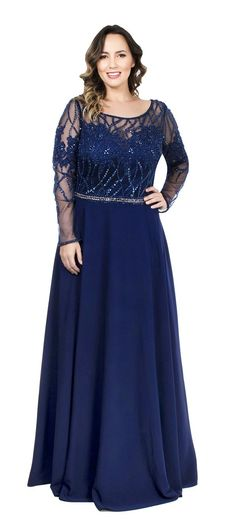 Vestido plus size bordado Plus Size Prom, Plus Size Gowns, Plus Size Wedding, Mom Dress, Lace Dress, Evening Dresses, Prom Dresses, Formal Dresses, Vestidos Chiffon