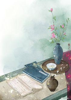 Beautiful Fantasy Art, Fantasy Paintings, China Art, Traditional Paintings, Kawaii Wallpaper, Japan Art, Anime Scenery, Chinese Painting, Aesthetic Art