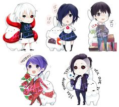 TOKYO GHOUL CHARMS by A1SU on deviantART
