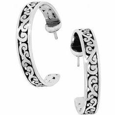 Brighton Uluwatu Post Hoop Earrings