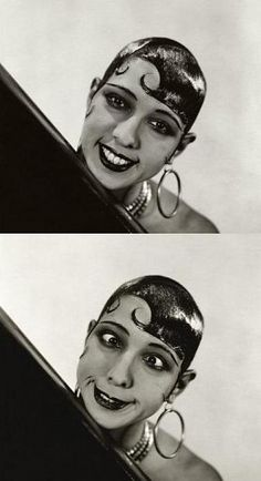 """""""Beautiful? It's all a question of luck. I was born with good legs. As for the rest… beautiful, no. Amusing, yes."""" -Josephine Baker, 1934 [photo by George Hoyningen-Huene, via Conde Nast archive]"""