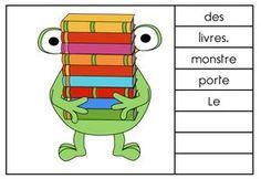 les phrases mélées : petits exercices de compréhension de lecture en CP