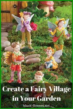 Create a Fairy Village in Your Garden