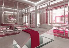 Guinot Paris Flagship skin institute. Jakarta, Skincare, Lounge, Nail, Furniture, Beauty, Home Decor, Airport Lounge, Drawing Rooms